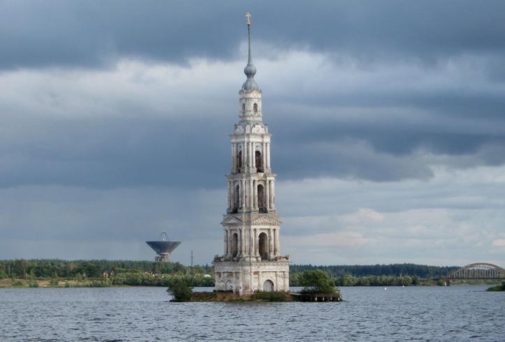 Затопленная колокольня