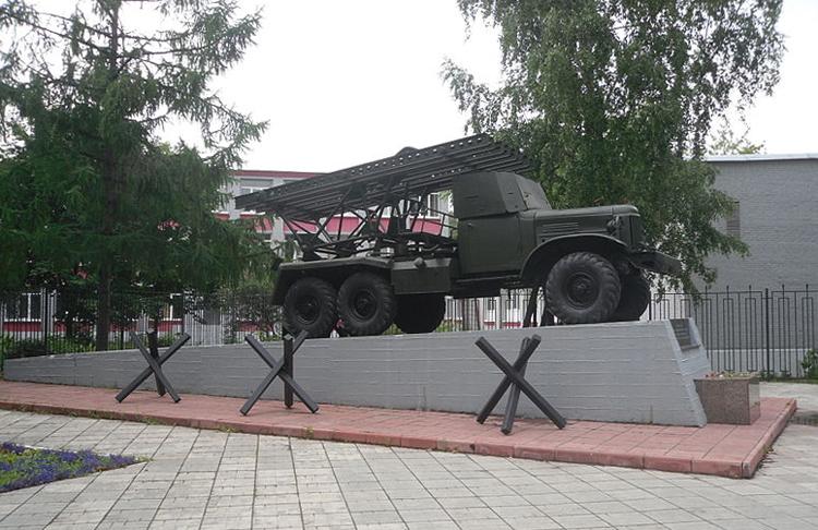 Памятник «Боевое орудие «Катюша»
