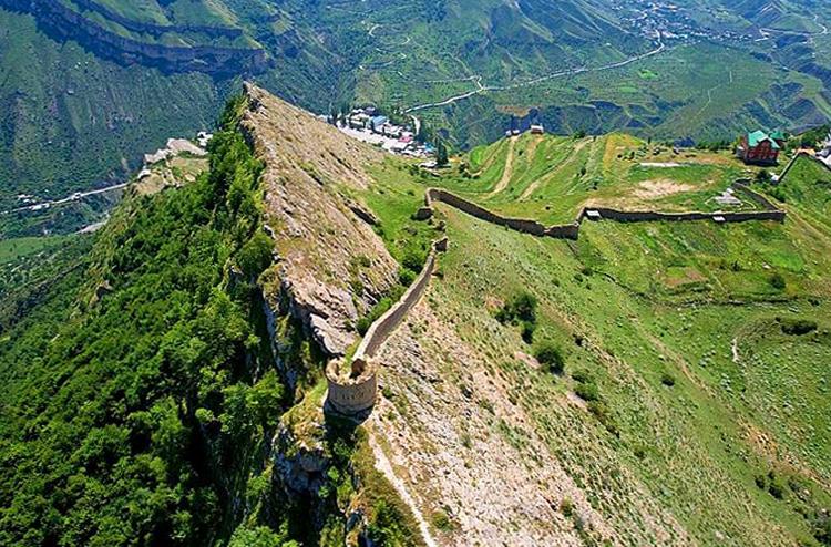 Крепость Гуниб
