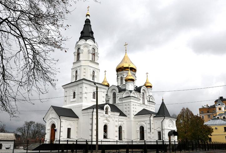 Свято- Крестовоздвиженский кафедральный собор