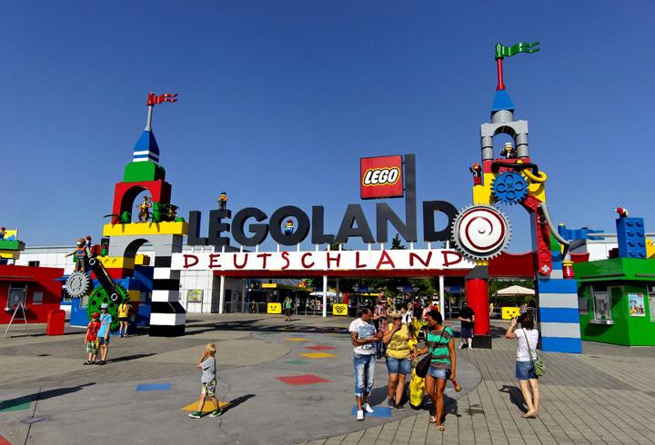 Парк аттракционов Lego