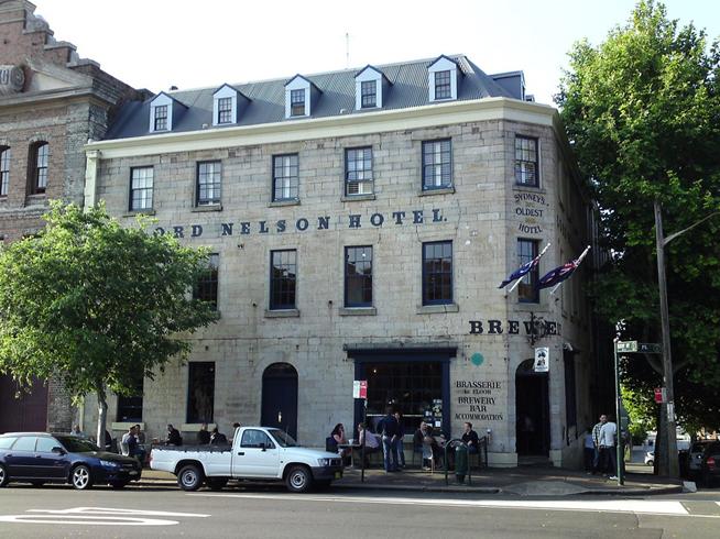 «The Lord Nelson Hotel» и пивоварня