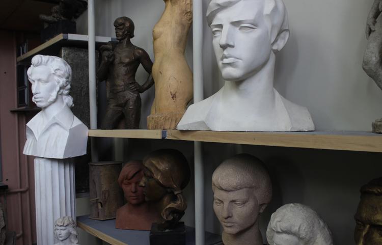 Мастерская скульптора Петра Лукича Малкова
