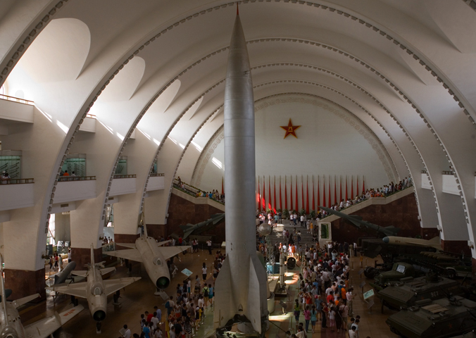 в военном музее