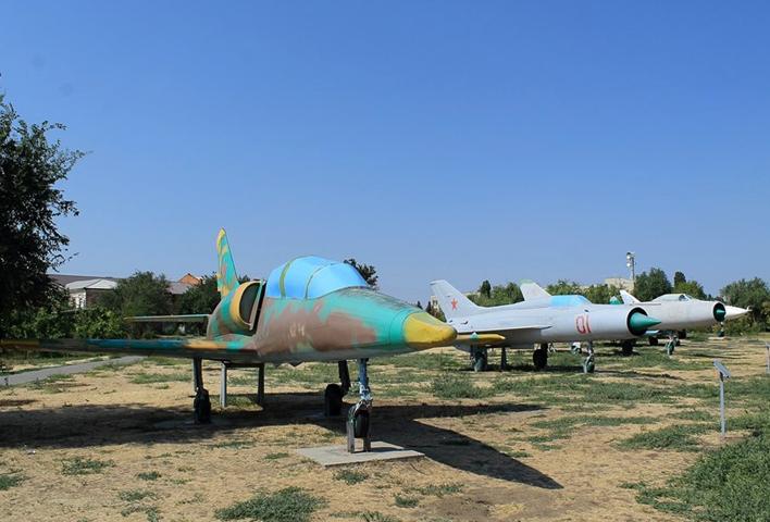 Музей авиационной техники» под открытым небом