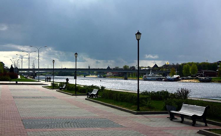 Набережная Великого Новгорода