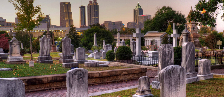Историческое кладбище Окленд