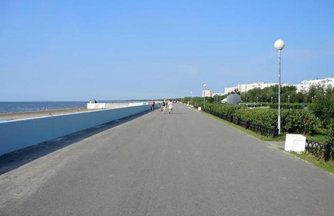Набережная острова Белого моря и острова Ягры