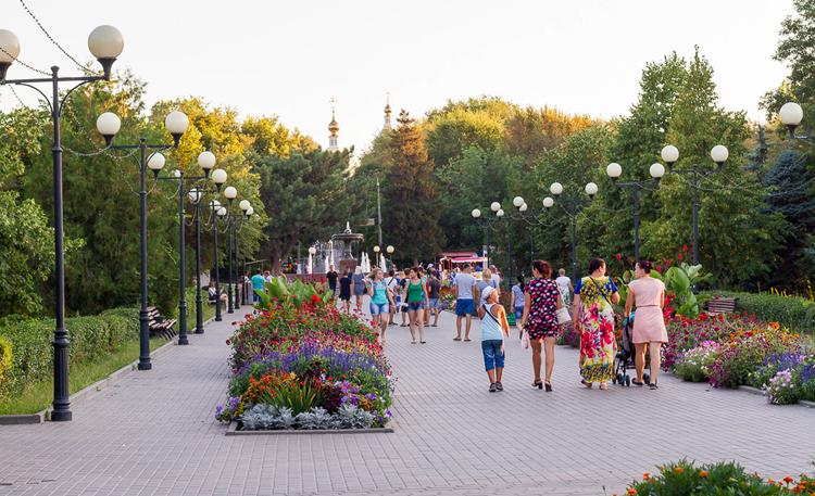 Городской парк культуры и отдыха им. Комсомольцев-добровольцев