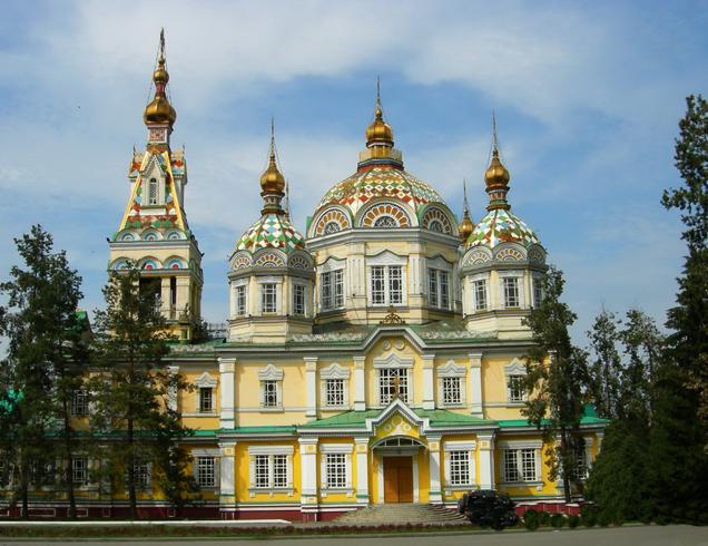 Вознесенский кафедральный собор Алматы