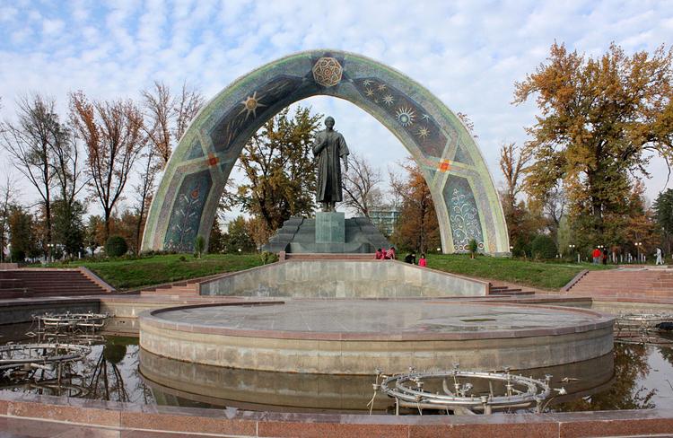 Городской сад «Боги Рудаки»