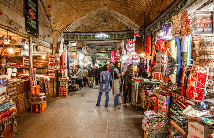 Большой базар Исфахана