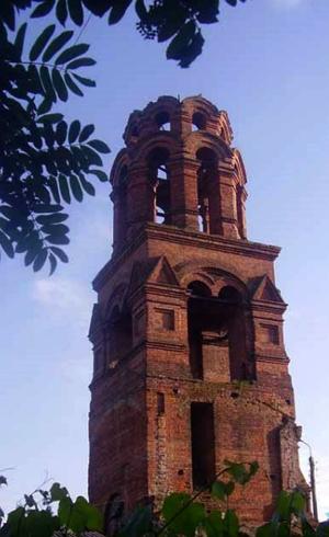Колокольня Покровской старообрядческой церкви