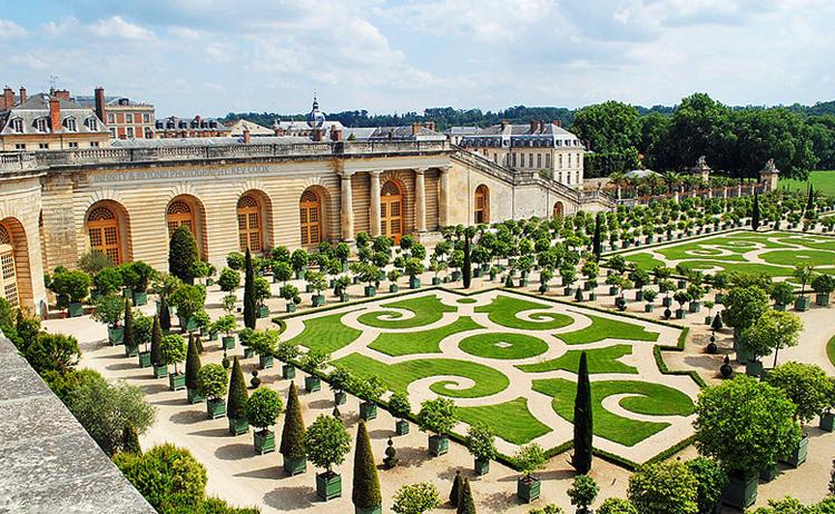 Версальский парк и Версальские сады