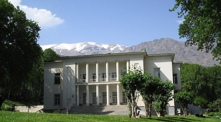 Дворец Саадабад