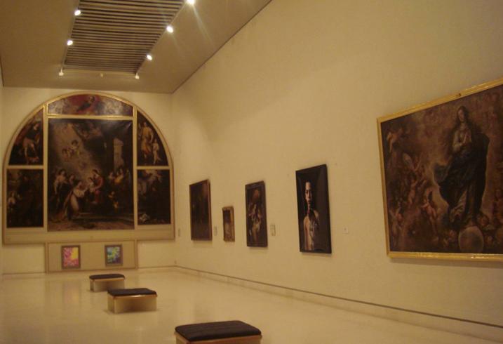 внутри музея Кадиса