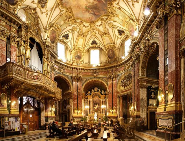 внутри базилики Консолата