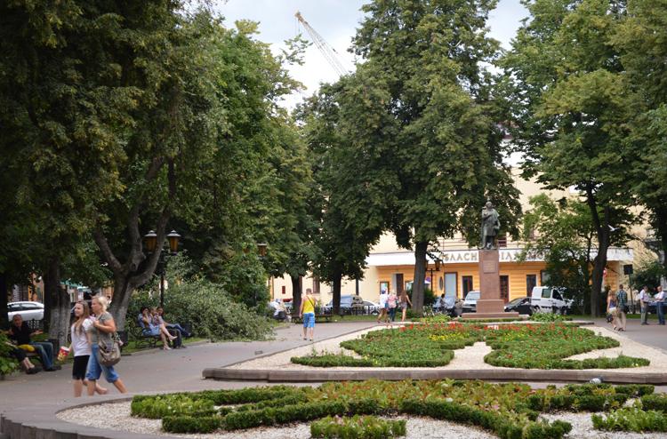 Сквер Мицкевича