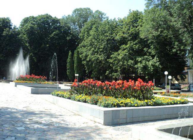 Сквер имени Тараса Шевченко