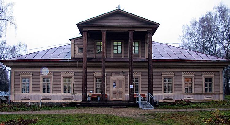 Усадьба с колоннами