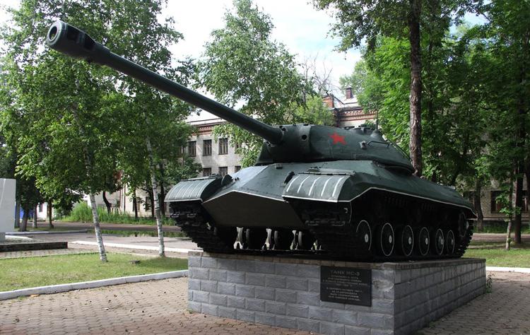 Памятник танку ИС-3