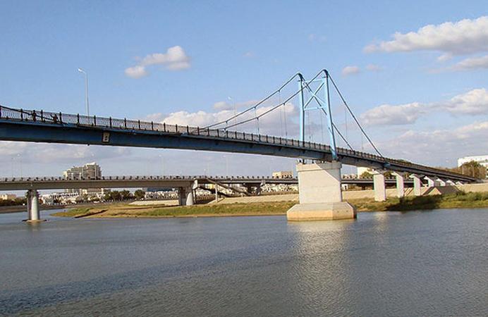 Пешеходный мост «10 лет независимости»