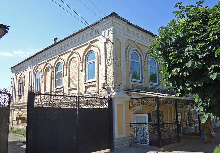 Дом, в котором жил Г.Н. Троепольский