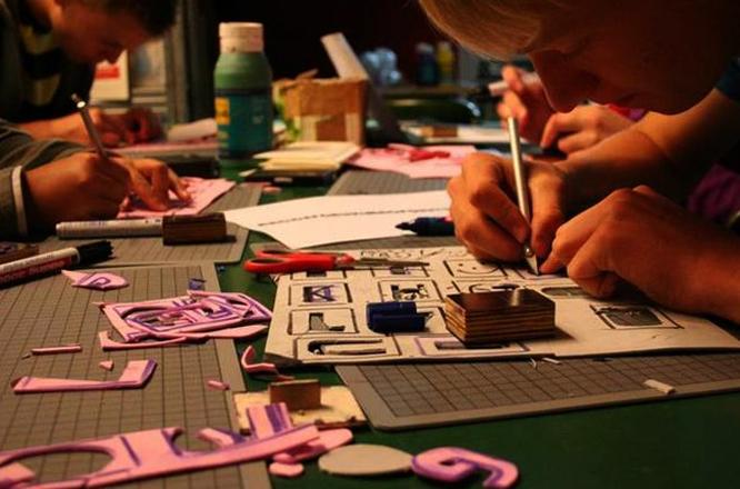 Spielkarten Fabrik