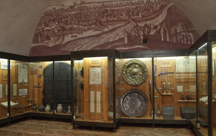 внутри музея заповедника