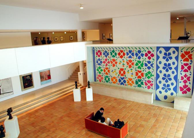 внутри музея Матисса