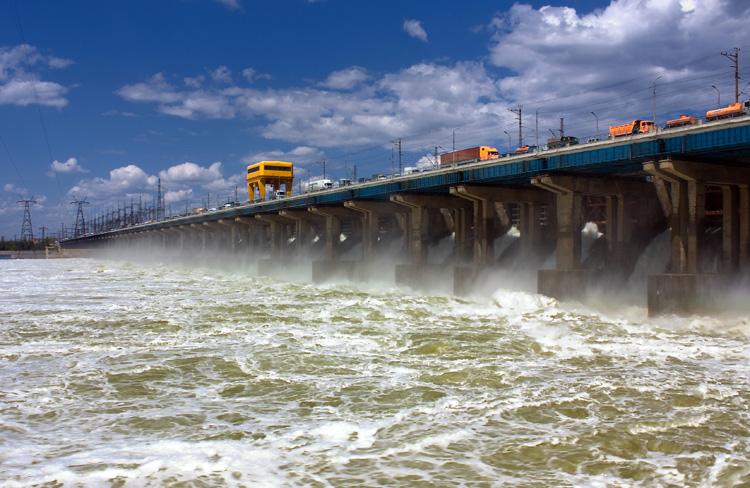 Волжская гидроэлектростанция