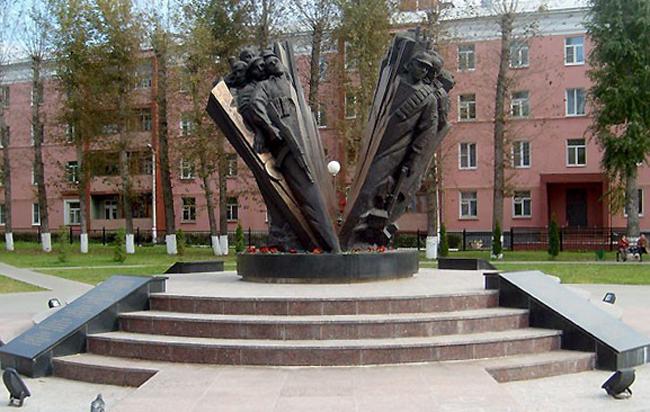 Памятник местным жителям, погибшим в Афганистане