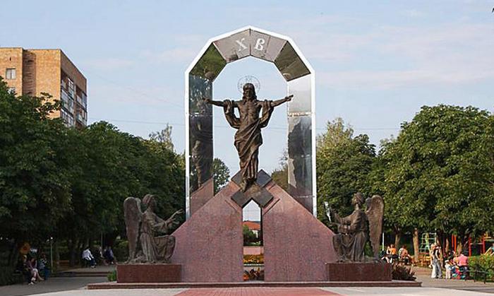 Скульптурная композиция «Воскресение Христово»