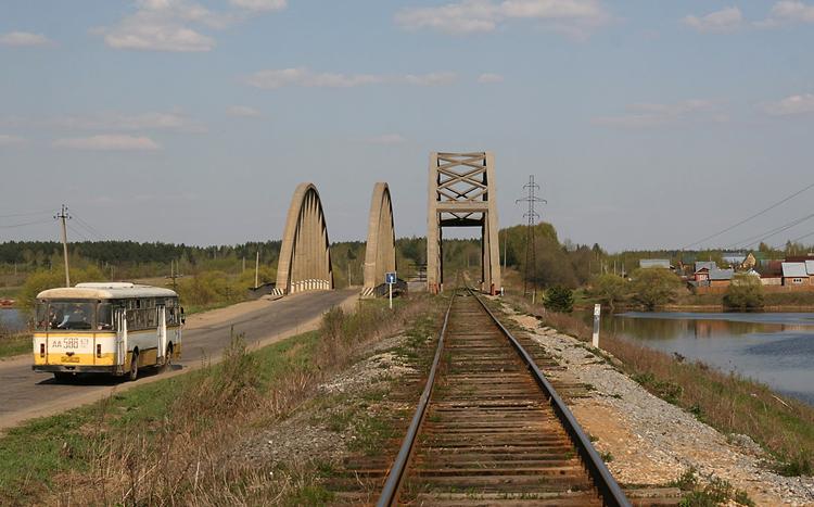 Мост через Жабню