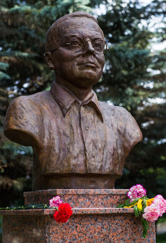 Единственный в России памятник Н.А. Заболоцкому