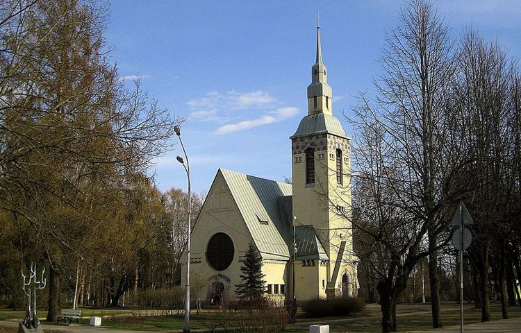 Лютеранская церковь Преображения Господня