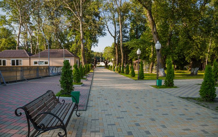 Парк культуры и отдыха «Зеленый остров»