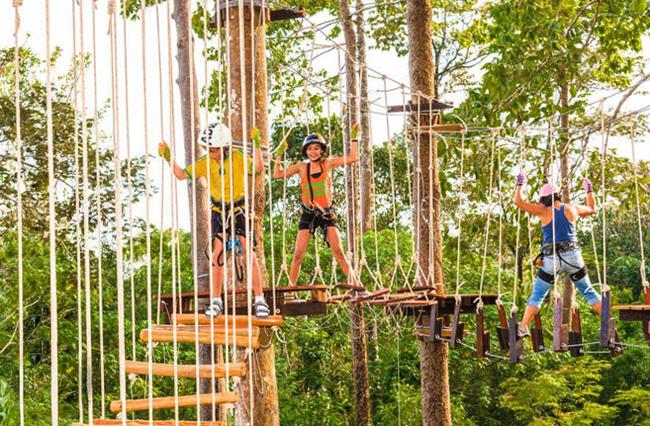 Веревочный парк «Krabi Fun Park»