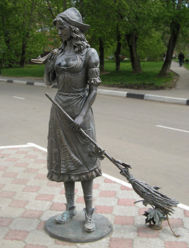 Памятник «Золушка»
