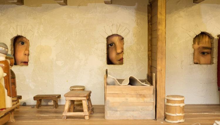 Внутри музея Абоа Ветус