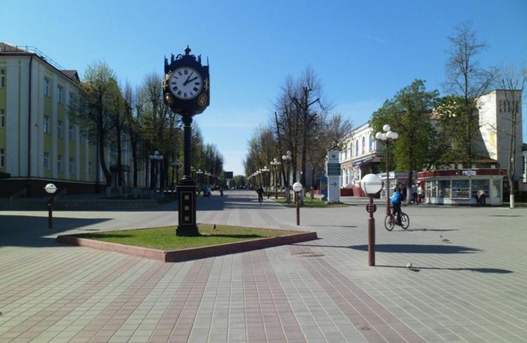 Пешеходная улица Притыцкого