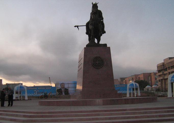 Памятник Агыбай батыру