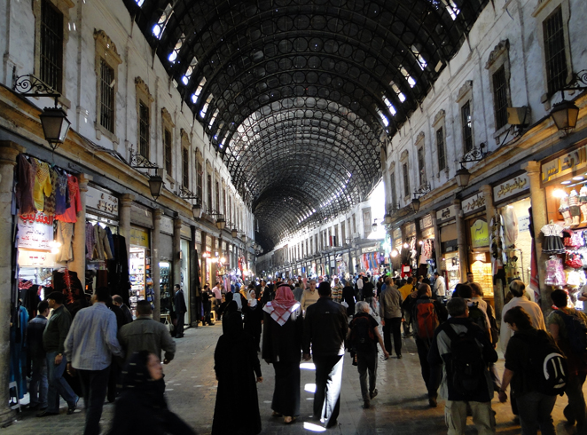 Рынок Сук аль-Хамидия