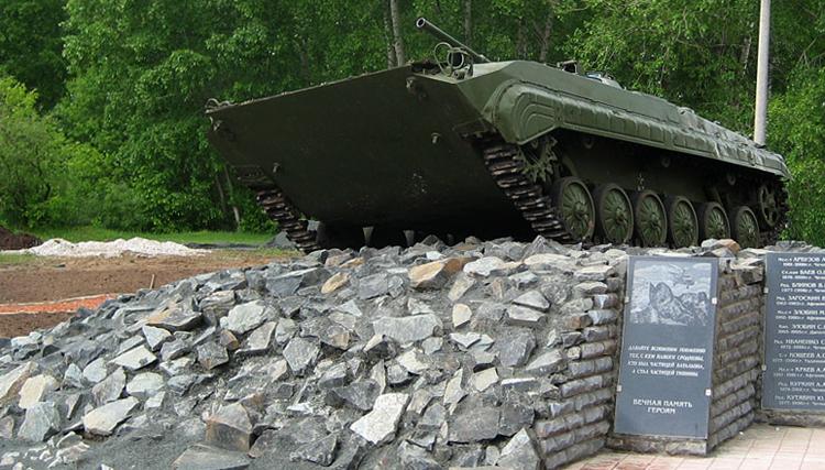 БМП на проспекте Кирова