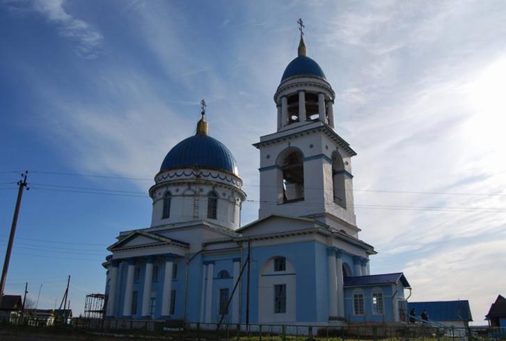 Храм во имя Знамения Божией Матери