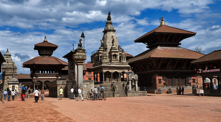 Город Бхактапур