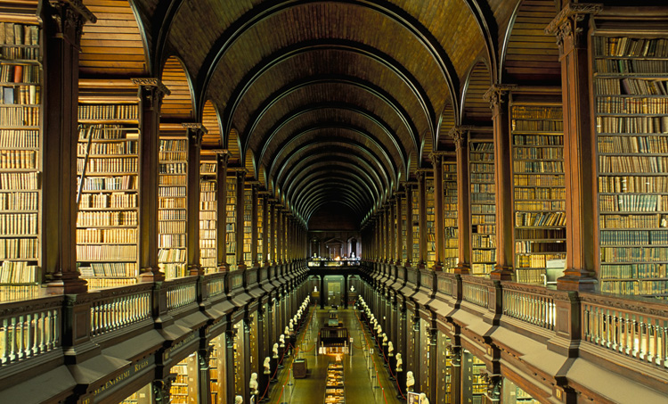 Библиотека колледжа