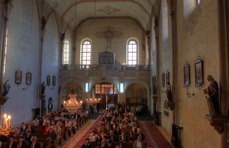 Внутри монастыря урсулинок