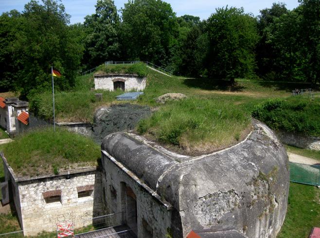 Вид крепости