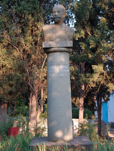 Памятник А.А. Боброву